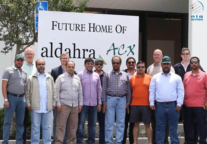 A delegation from Abu Dhabi Food Control Authority visited several of Al Dahra Animal Feed Projects.