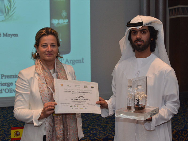 Al Dahra Morocco wins the second place in the National Competition for the best virgin olive oil in Morocco.